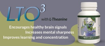 LOT3 with L-Theanine for focus, concentration, and calmness